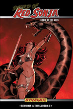 Image: Sword of Red Sonja Vol. 02: Doom of the Gods SC  - D. E./Dynamite Entertainment