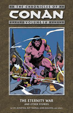 Image: Chronicles of Conan Vol. 16: Eternity War & Other Stories SC  - Dark Horse