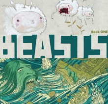 Image: Beasts! Book 01 SC  - Fantagraphics Books