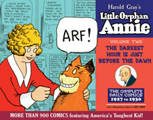 Image: Complete Little Orphan Annie Vol. 2: 1927-1929 HC  - IDW Publishing