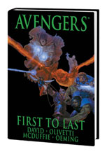 Image: Avengers: First to Last HC  - Marvel Comics