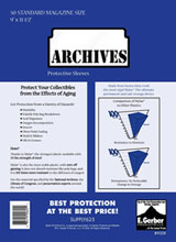 Image: Archives Sleeves: Magazine  (4-mil) (9x12) (50) -