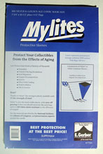 Image: Mylites Sleeves: Silver/Golden Age Size  (7-3/4x10-3/4) (100) -