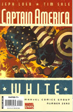 Image: Captain America-White #0 (Variant Cover - Tim Sale)  [2008] - Marvel Comics