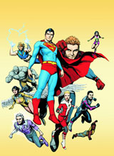 Image: Superman and the Legion of Super-Heroes SC  - DC Comics