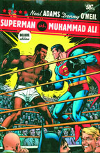 Image: Superman vs. Muhammad Ali Deluxe Edition HC  - DC Comics
