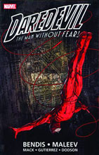 Image: Daredevil by Bendis & Maleev Ultimate Collection Book 01 SC  - Marvel Comics