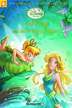 Image: Disney Fairies Vol. 02: Tinkerbell and the Wings of Rani SC  - Papercutz