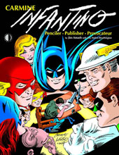 Image: Carmine Infantino: Penciler, Publisher, Provocateur HC  - Twomorrows Publishing