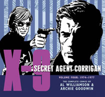 Image: X-9: Secret Agent Corrigan Vol. 04: 1974-1977 HC  - IDW Publishing