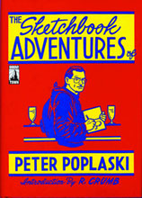Image: Sketchbook Adventures of Peter Poplaski HC  - Boom! Studios