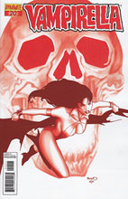 Image: Vampirella #20 (15-copy Renaud red incentive cover) (v15) - D. E./Dynamite Entertainment