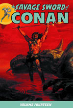 Image: Savage Sword of Conan Vol. 14 SC  - Dark Horse Comics
