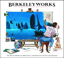 Image: Berkeleyworks: Art of Berkeley Breathed From Bloom County & Beyond HC  - IDW Publishing