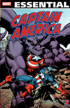 Image: Essential Captain America Vol. 07 SC  - Marvel Comics