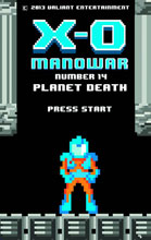 Image: X-O Manowar #14 (8-bit variant cover) - Valiant Entertainment LLC