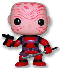 Image: Pop! Marvel Vinyl Figure: Deadpool  (PX Maskless Red version) - Marvel Heroes Collectibles & Novelties