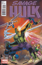 Image: Savage Hulk #1 (variant cover - Cassaday) - Marvel Comics