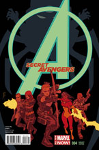 Image: Secret Avengers #4 (variant cover - Walsh) - Marvel Comics