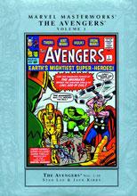 official photos b9d89 e84a0 Image  Marvel Masterworks Avengers Vol. 01 HC (new printing) - Marvel Comics