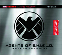 Image: Marvel's Agents of S.H.I.E.L.D.: Season One Declassified HC  (slipcased) - Marvel Comics