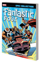 Image: Fantastic Four Epic Collection: Into the Time Stream SC  - Marvel Comics
