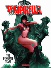 Image: Art of Vampirella: The Dynamite Years HC  - Dynamite