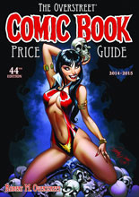 Image: Overstreet Comic Book Price Guide Vol. 44 HC  (Vampirella cover) - Gemstone Publishing