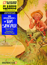 Image: Classics Illustrated Vol. 19: The Adventures of Tom Sawyer HC  - Papercutz