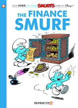 Image: Smurfs Vol. 18: Finance Smurf HC  - Papercutz