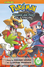 Image: Pokémon Adventures: Diamond and Pearl / Platinum Vol. 11 SC  - Perfect Square