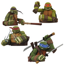 Image: Teenage Mutant Ninja Turtles Bust Bank: Leonardo  -