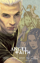 Image: Angel and Faith Season 9 Vol. 02 Library Edition HC  - Dark Horse Comics
