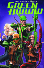Image: Green Arrow: The Archer's Quest Deluxe Edition HC  - DC Comics