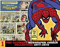 Image: Amazing Spider-Man Ultimate Newspaper Comics Collection Vol. 01: 1977-1979 HC  - IDW Publishing