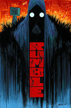 Image: Rumble Vol. 01: The Color of Darkness SC  - Image Comics