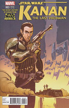 Image: Kanan - The Last Padawan #3 (Ng Rebels television show variant cover) - Marvel Comics