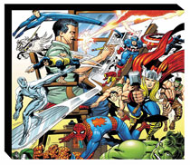 Image: Marvel Legacy of Jack Kirby Slipcase HC  - Marvel Comics