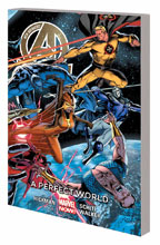 Image: New Avengers Vol. 04: A Perfect World SC  - Marvel Comics