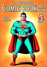 Image: Overstreet Comic Book Price Guide Vol. 45 SC  (Joe Shuster Superman cover) - Gemstone Publishing