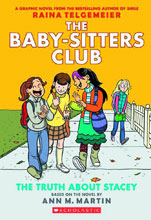 Image: Baby-Sitters Club: The Truth About Stacey SC  (color edition) - Graphix