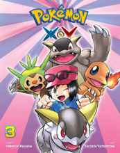 Image: Pokemon X-Y Vol. 03 SC  - Perfect Square