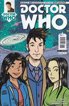 Image: Doctor Who: 10th Doctor #15 (variant incentive cover - Abadzis) (10-copy) - Titan Comics