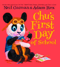 Image: Neil Gaiman: Chu's First Day Board Book  - Harper Collins Publishers