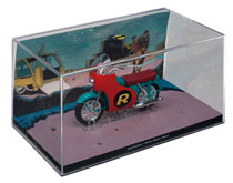 Image: DC Batman Automobilia Figure Magazine #62 (Batman #244 Robin Bike) - Eaglemoss Publications Ltd
