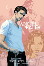 Image: Angel and Faith Season 9 Vol. 01 Library Edition HC  - Dark Horse Comics