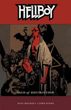 Image: Hellboy Vol. 01: Seed of Destruction SC  (new printing) - Dark Horse Comics