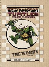 Image: Teenage Mutant Ninja Turtles Color Classics: The Works Vol. 05 HC  - IDW Publishing