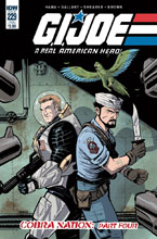 Image: G.I. Joe: A Real American Hero: Cobra Nation Part Four #229 (subscription cover - Brian Shearer) - IDW Publishing