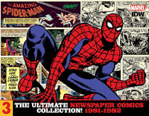 Image: Amazing Spider-Man: The Ultimate Newspaper Comics Collection Vol. 03  (1981-1982) HC - IDW Publishing